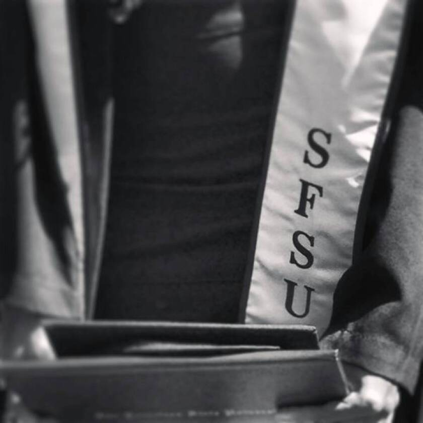 The commencement at San Francisco State was oddly anticlimactic, long on accolades for administrators and professors but short on praise for students who'd clawed their way to graduation through years of cutbacks and chaos.
