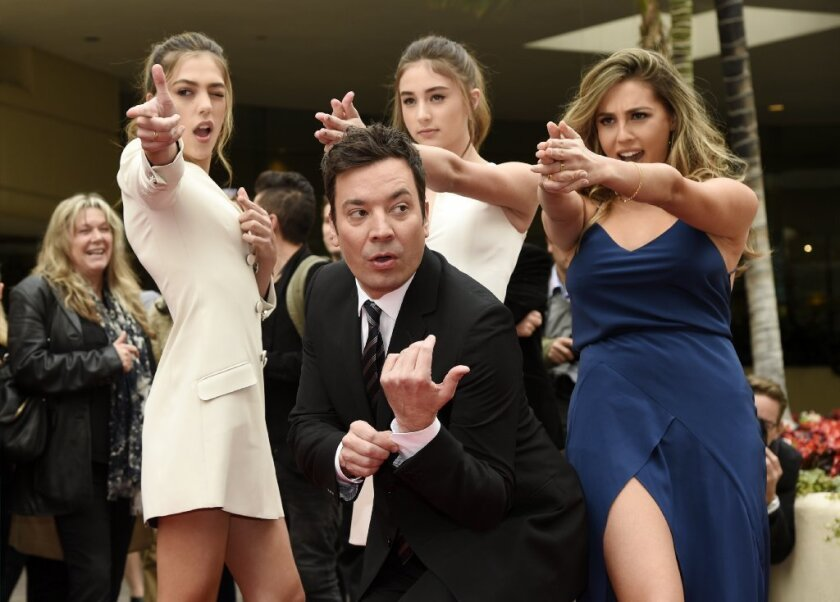 Jimmy Fallon is ready to host the Golden Globes.