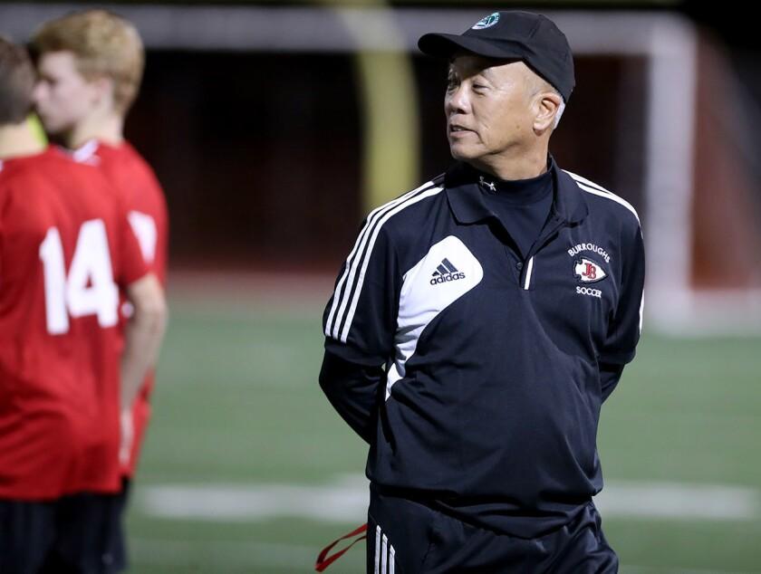 Photo Gallery: Burroughs High soccer vs. Oak Park