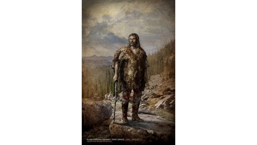 Costume concept for 'The Revenant'