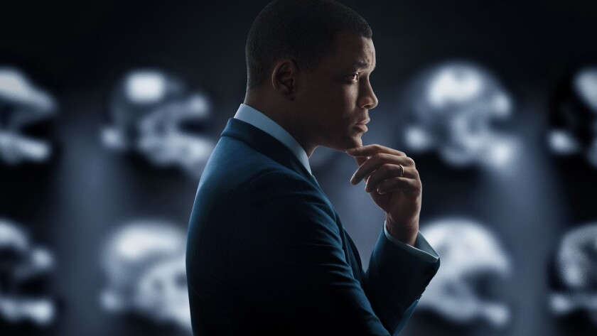 "Will Smith stars as Dr. Bennet Omalu in Sony Motion Pictures' ""Concussion."""