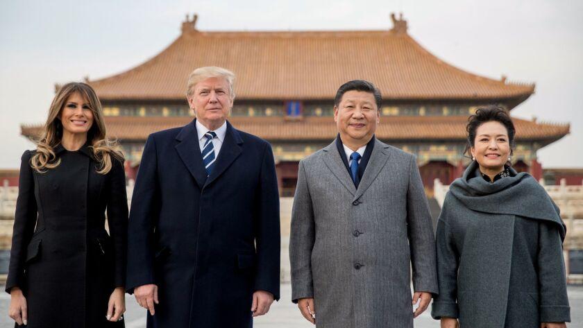 Donald Trump, Melania Trump, Xi Jinping, Peng Liyuan