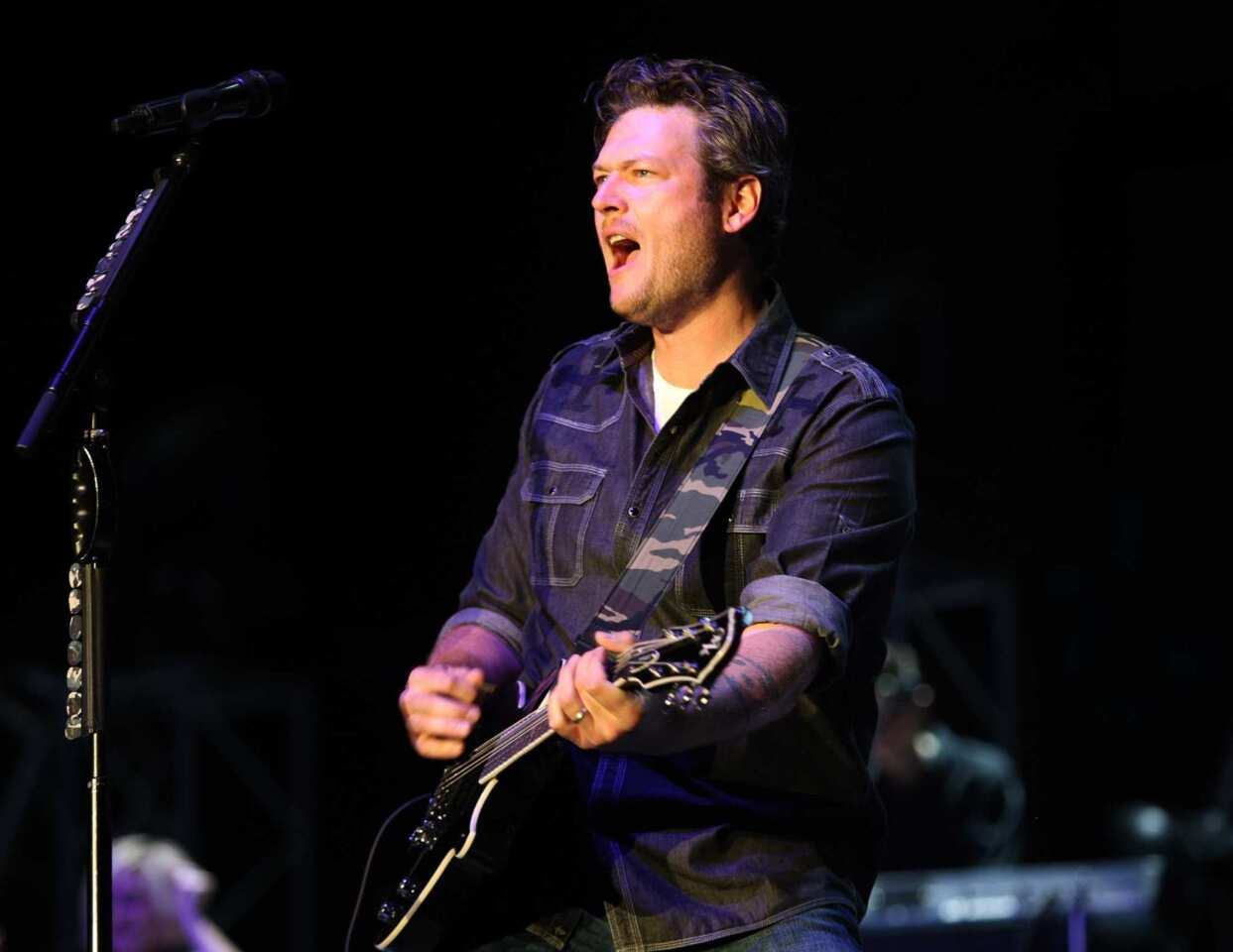"""Entertainer of the Year WINNER Song of the Year: """"Over You"""" (Miranda Lambert and Blake Shelton) WINNER Male Vocalist of the Year WINNER Single of the Year: """"God Gave Me You"""" (Produced by Scott Hendricks)"""