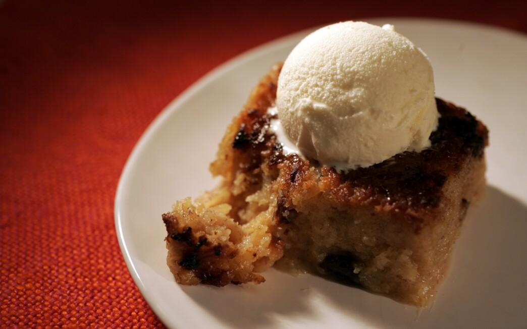 Sweet potato pudding (pain patate)