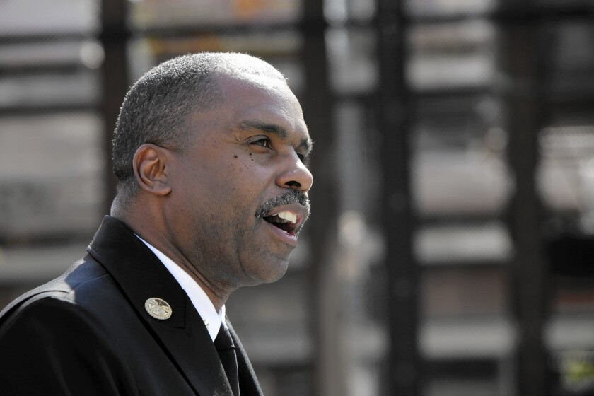 L.A. County fire Chief Daryl Osby confirmed the department did not investigate allegations of nepotism and cheating made in 2012 by a former fire captain, but he has asked the county Auditor-Controller Department to launch a new inquiry.