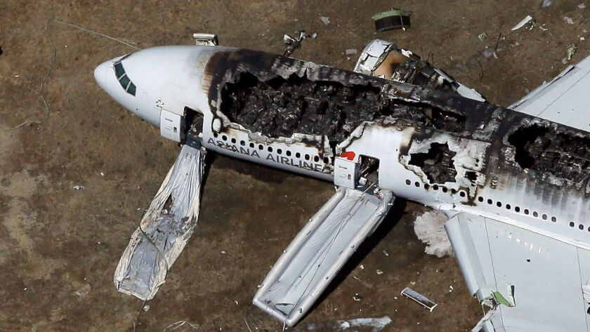 Boeing 777 Crashes At San Francisco Airport