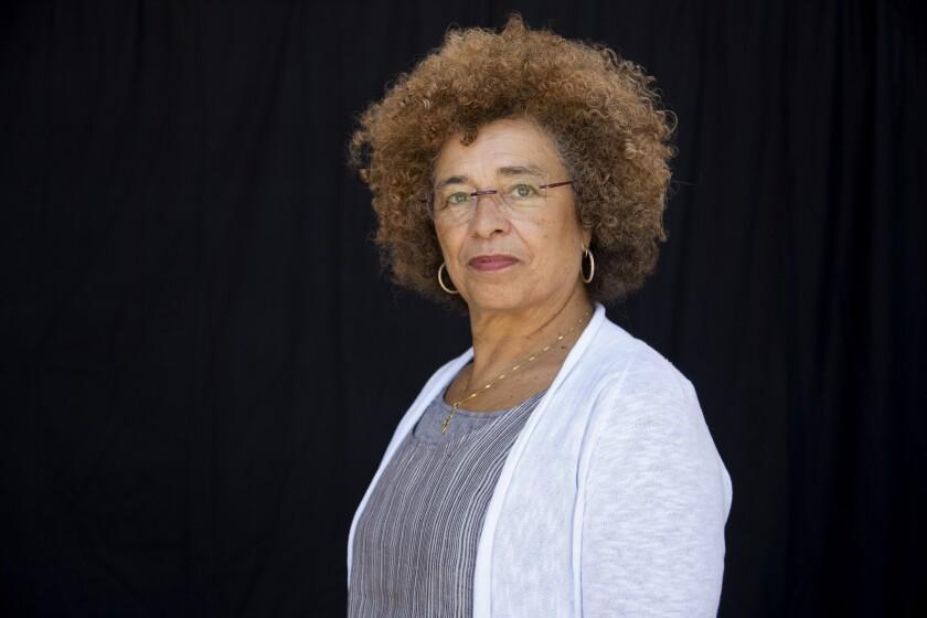 UCLA professor Angela Y. Davis