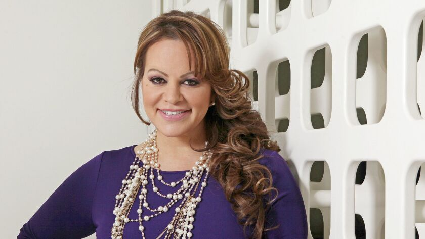 Mexican American singer and reality TV star Jenni Rivera.