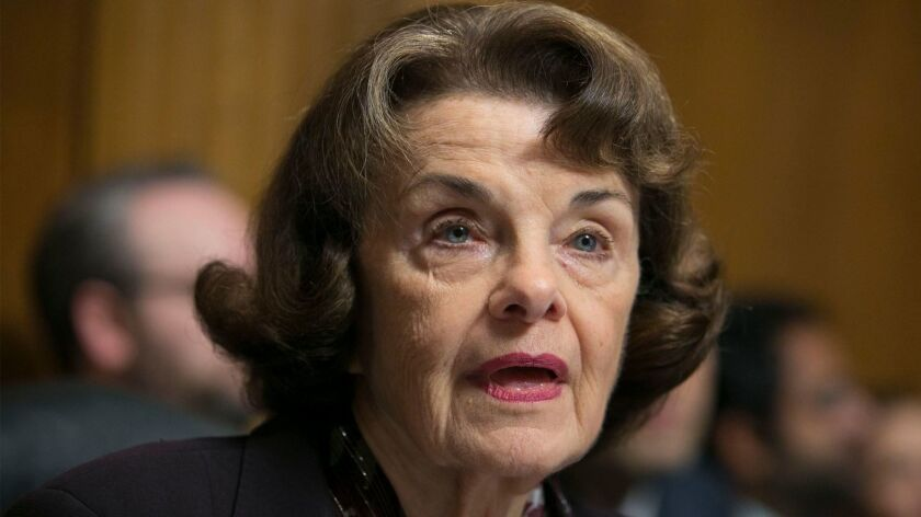 Sen. Dianne Feinstein is one of the few remaining Senate traditionalists.