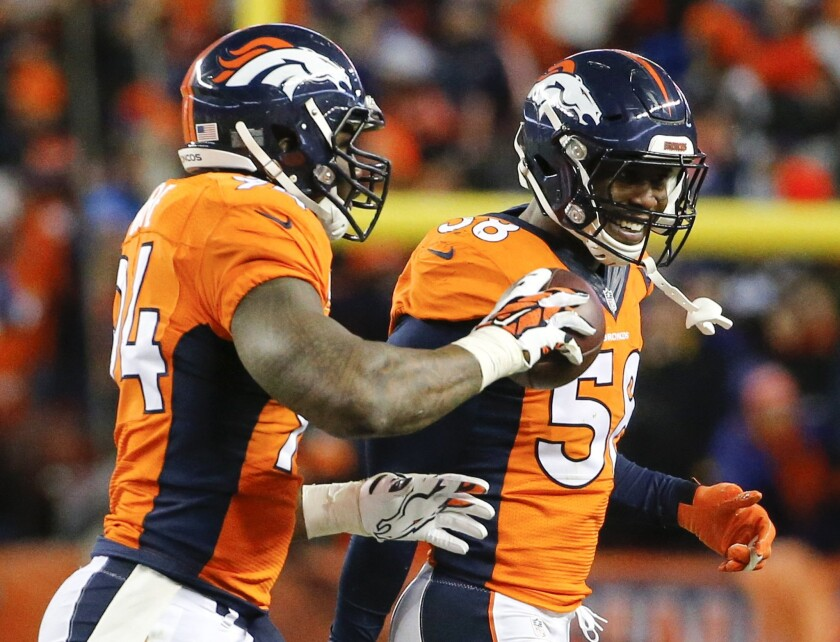 Broncos' Von Miller is excited about playing in Super Bowl for the first time