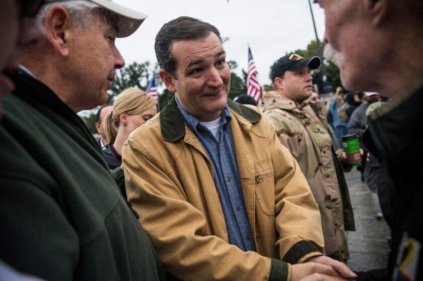 Sen. Ted Cruz, Obamacare's best friend.