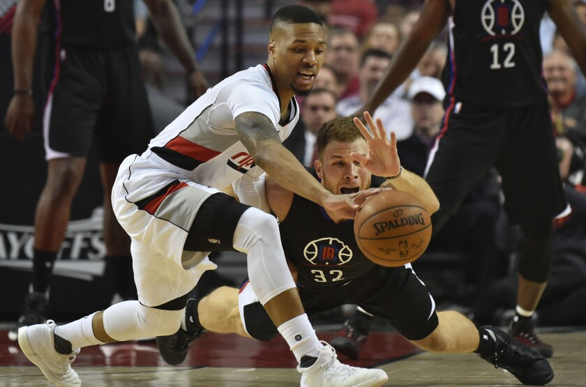 Key numbers in the Clippers' 98-84 loss to the Trail Blazers in Game 4