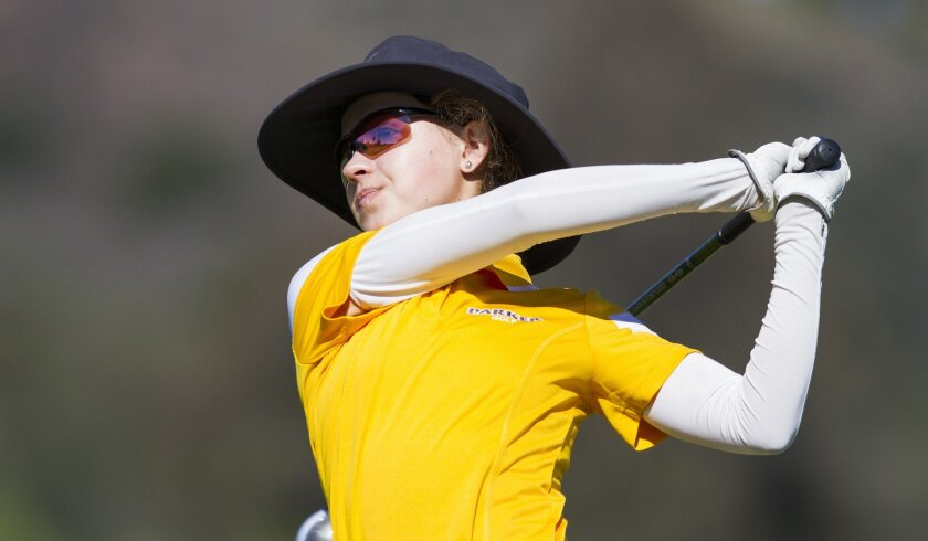 Francis Parker's Brooke Seay is the San Diego Section defending champion.