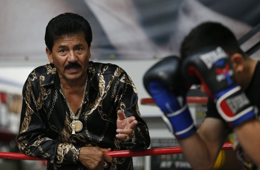 Boxing champion Leo Santa Cruz reveals his father's fight with