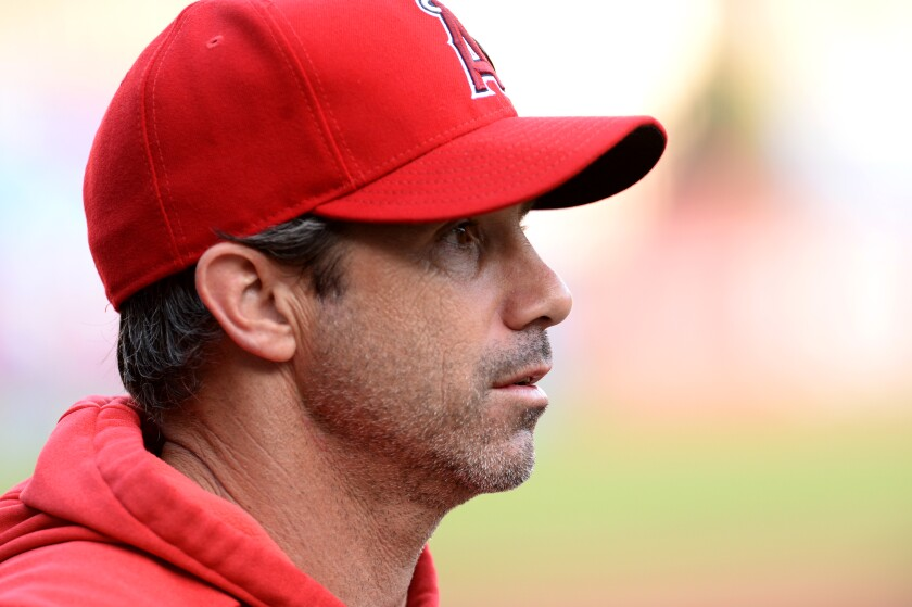 Manager Brad Ausmus' first season with the Angels has been disappointing.