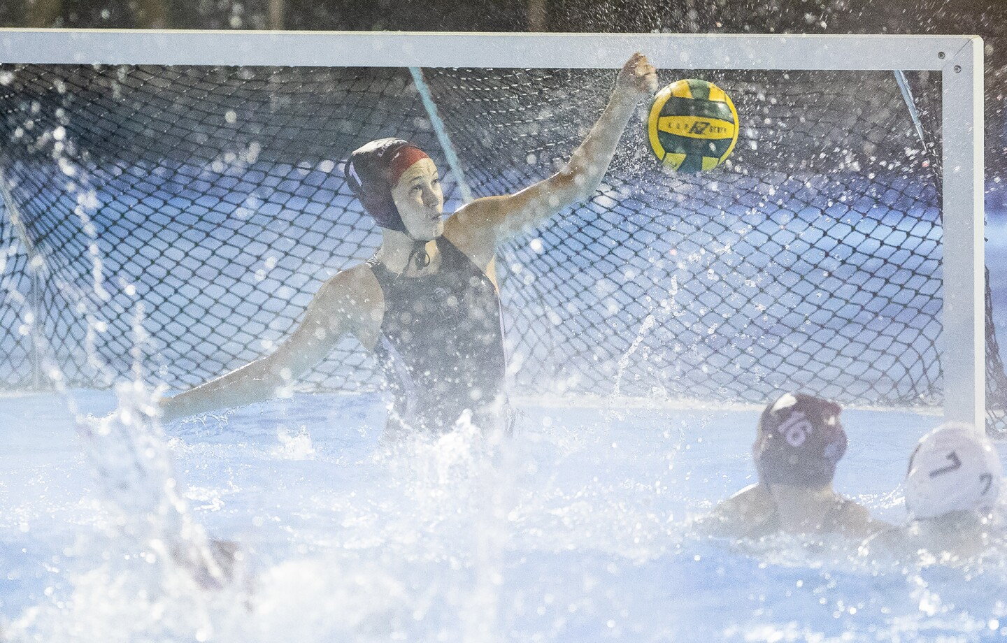 Photo Gallery: Laguna Beach vs. Foothill in girls' water polo