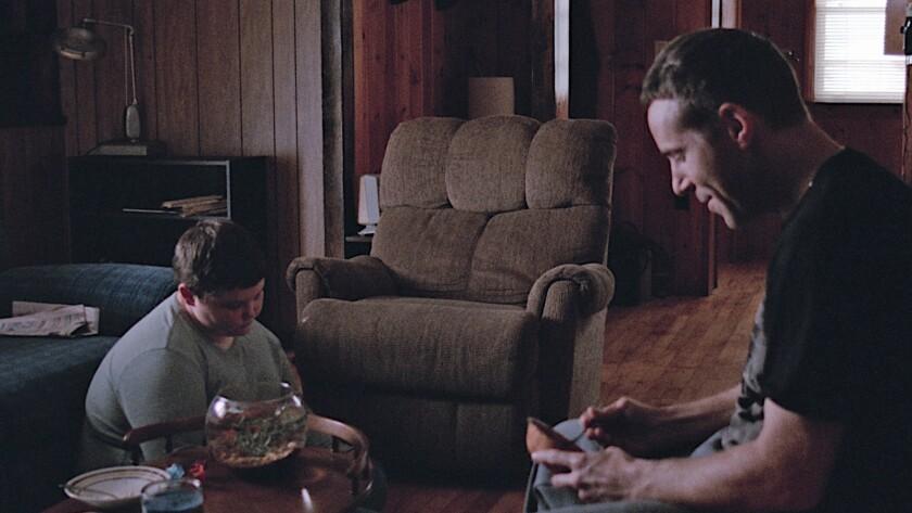 """Eli Haley (Will) and Alessandro Nivola (Joel) in Jaron Albertin?s """"WEIGHTLESS."""" Credit: Paladin"""