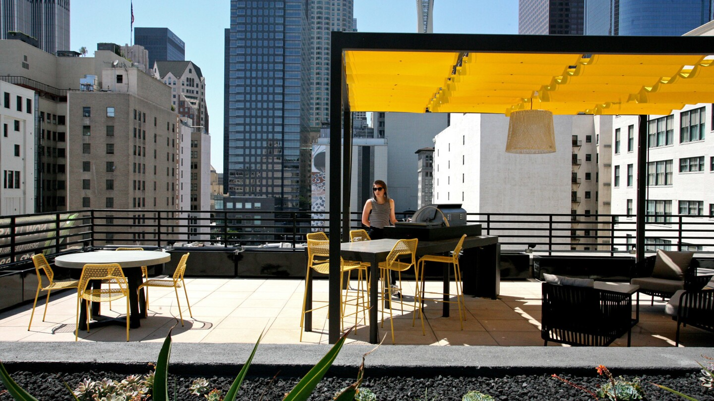 The firm Omgivning frequently includes upgrades to rooftops in its renovation and adaptive-reuse projects, such as this one downtown.