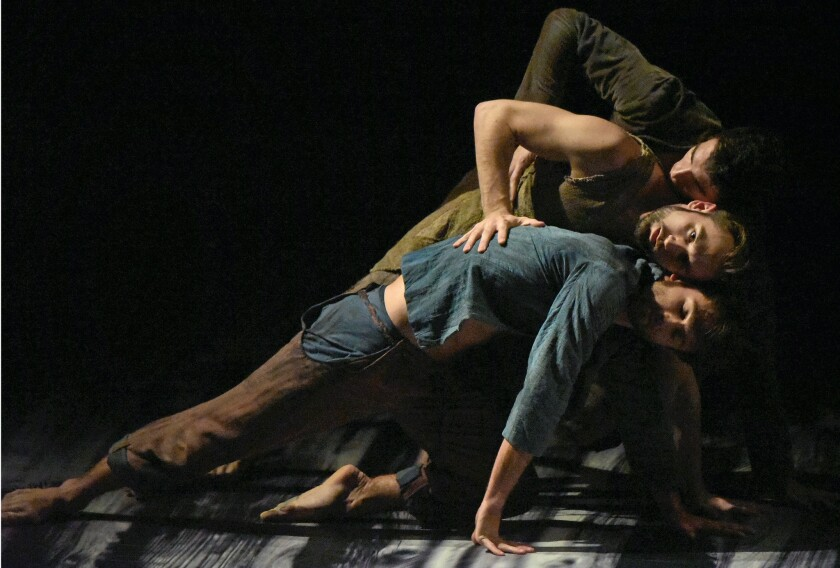 L.A. Dance Project performs 'Harbor Me' at the Wallis