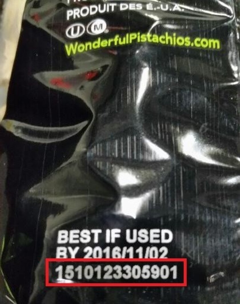 recalled pistachios