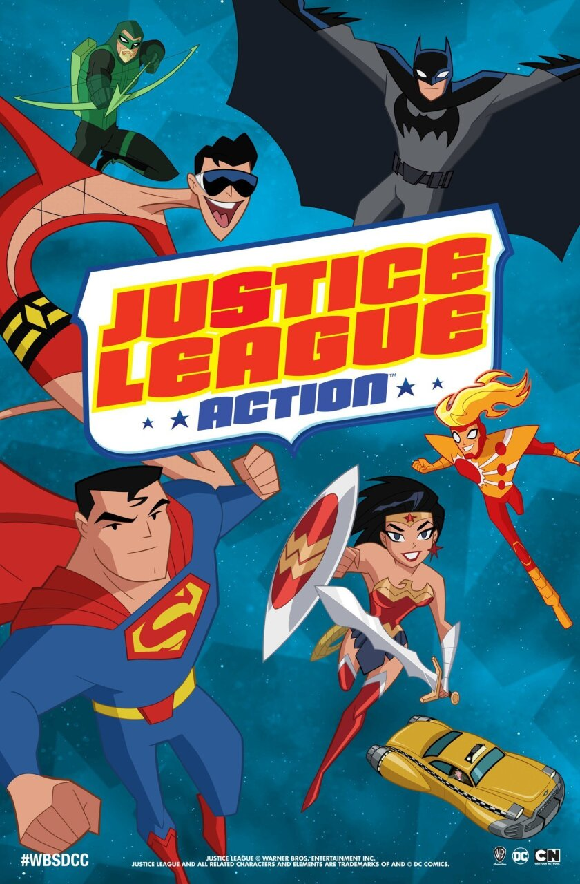 Justice League Action is a new animated TV show coming to Cartoon Network (Photo courtesy of Warner Bros.)