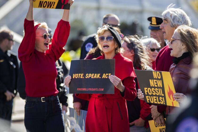 Climate Protest Fonda