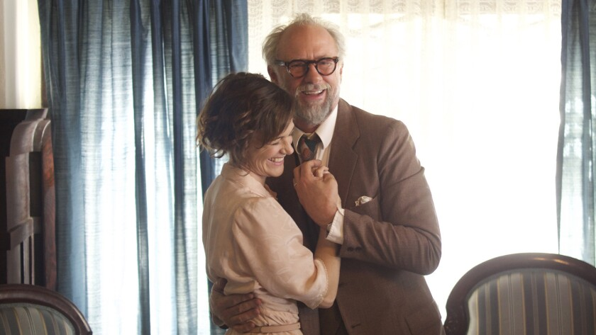 """(L-R) - Sarah Clarke and Xander Berkeley in a scene from """"The Maestro."""" Credit: Freestyle Digital Me"""