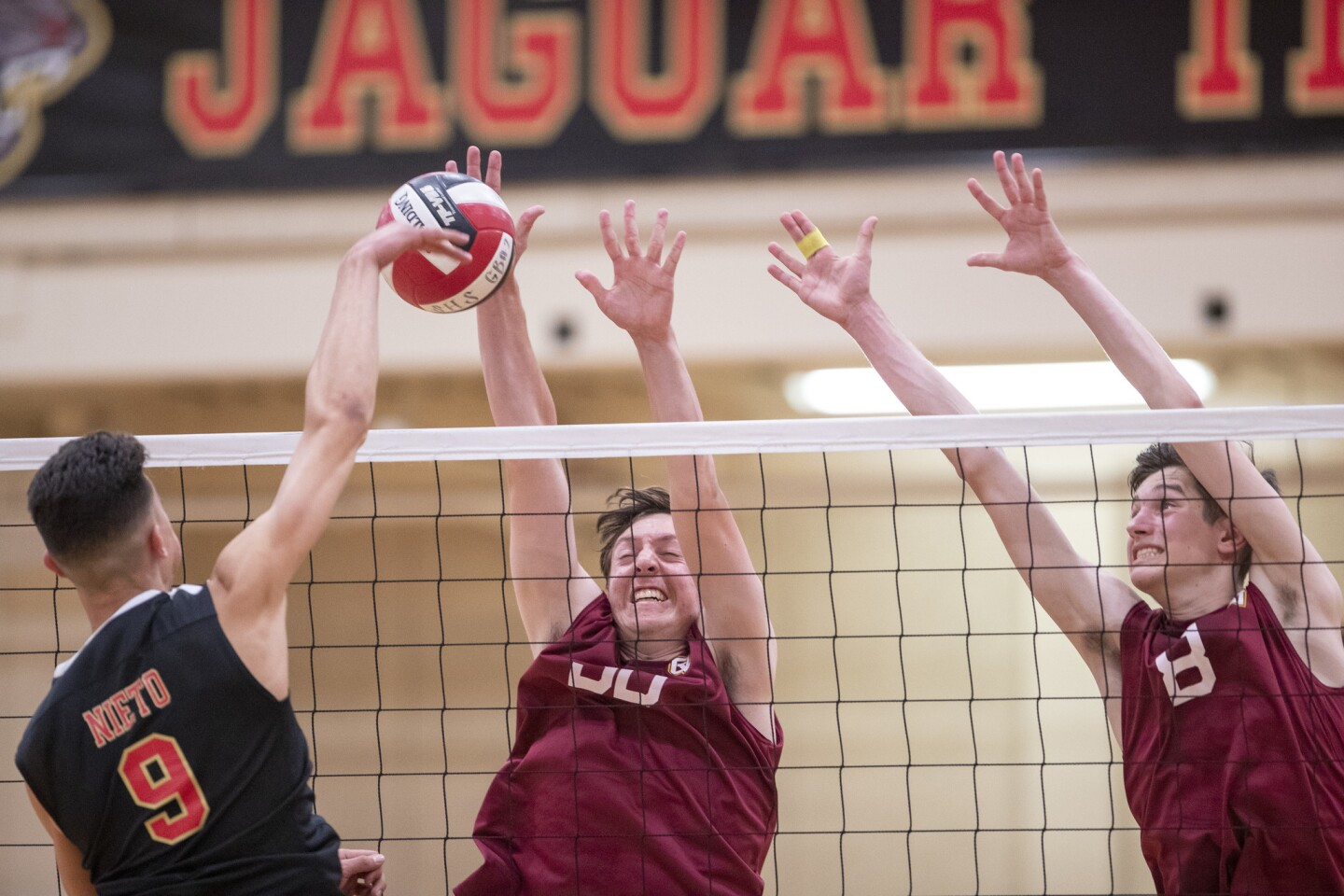 Photo Gallery: Ocean View vs. Segerstrom in boys' volleyball