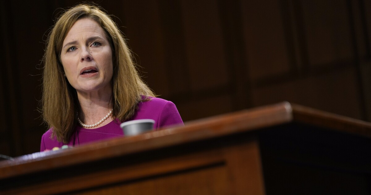 Op-Ed: Amy Coney Barrett's Supreme Court could shred environmental protections