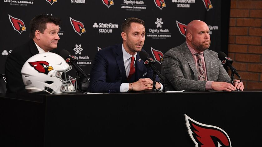 Arizona Cardinals Introduce Kliff Kingsbury - Press Conference