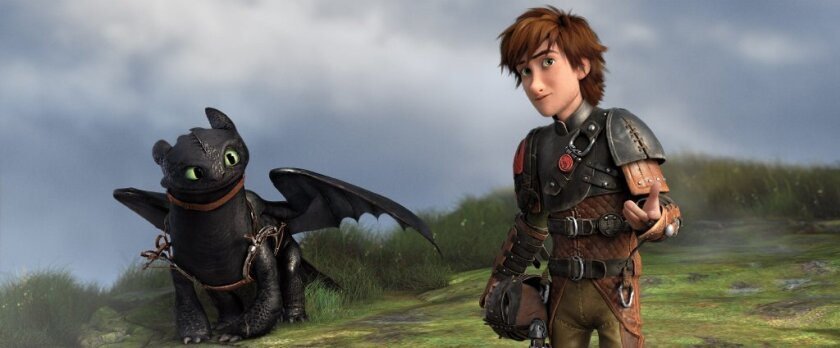 """How to Train Your Dragon 2"" was named best animated feature of 2014 at the Annie Awards Saturday evening"