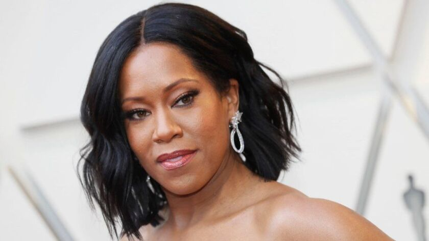 Regina King arrives for the 91st Academy Awards ceremony at the Dolby Theatre in Hollywood on Feb. 24.