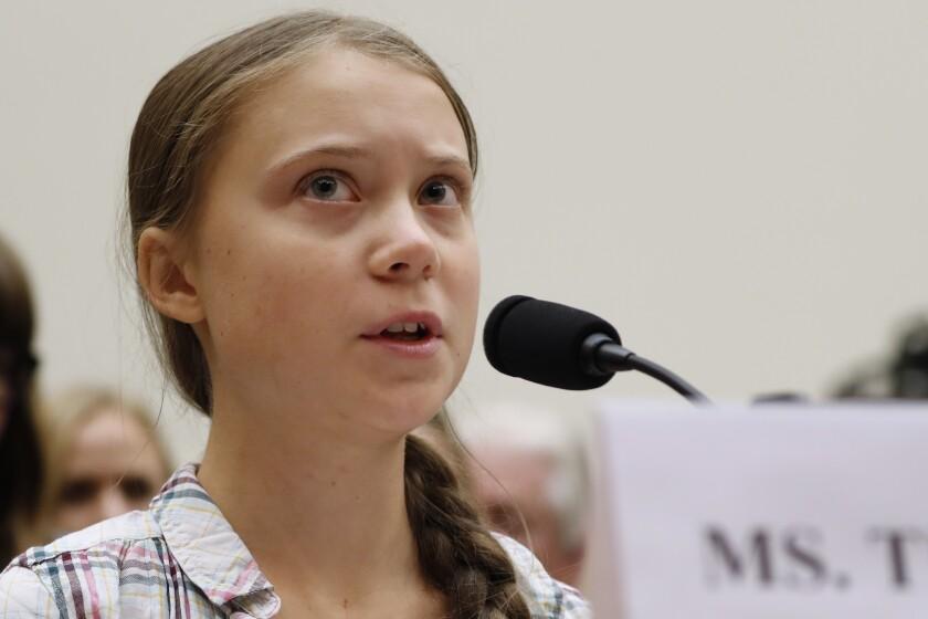 Greta Thunberg Youth Protest