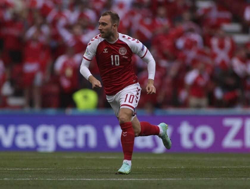El futbolista de la selección danesa C