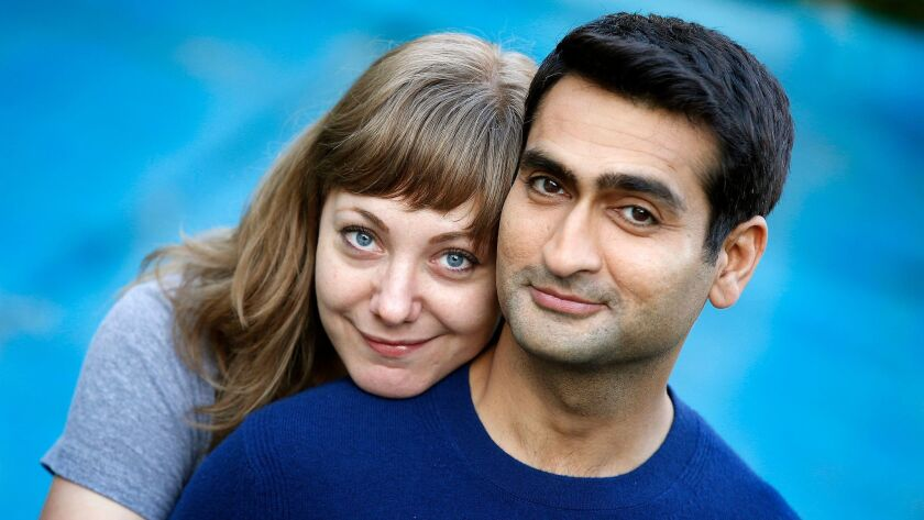 """Emily V. Gordon and Kumail Nanjiani, whose film """"The Big Sick"""" mirrors the cultural clashes they endured before getting married."""