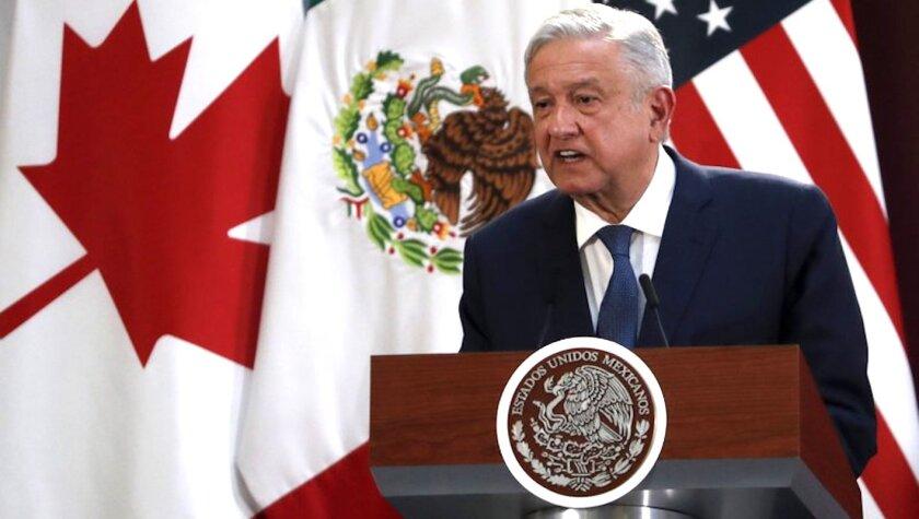 El presidente mexicano Andrés Manuel López Obrador.