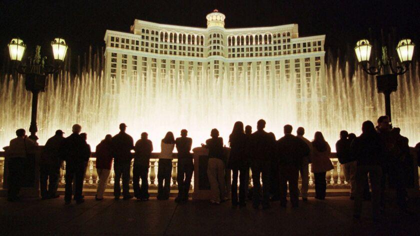 The Bellagio Hotel and Casino in Las Vegas.
