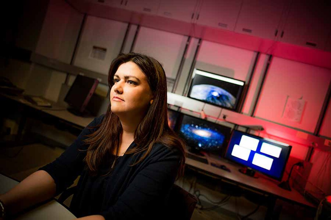 Physicist Quinn Konopacky is upgrading an instrument that will enable scientists to see fainter stars and planets
