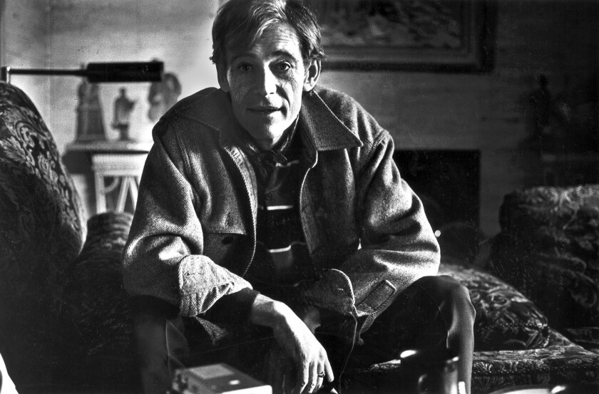 Actor Peter O'Toole relaxes in Bel-Air on Jan. 4, 1981.