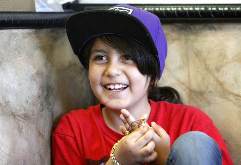 Azalyea Duran, 8, was stabbed 27 times in a Dec. 18 attack at her home, and her mother Antonia Duran, who was stabbed 22 times, died. Azalyea was put into an induced coma and woke up on Christmas Day. She was released from the hospital in late January and was back at school three days later.