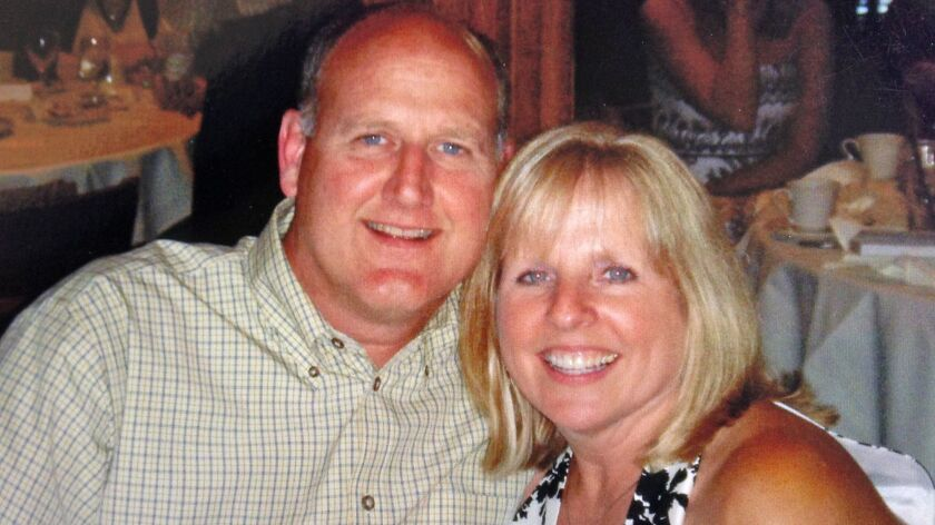 Richard Bigler and his wife, Theresa Bigler. She claimed in a lawsuit that her husband was infected and later died because of a contaminated Olympus Corp. scope at Virginia Mason Medical Center in Seattle in 2013.