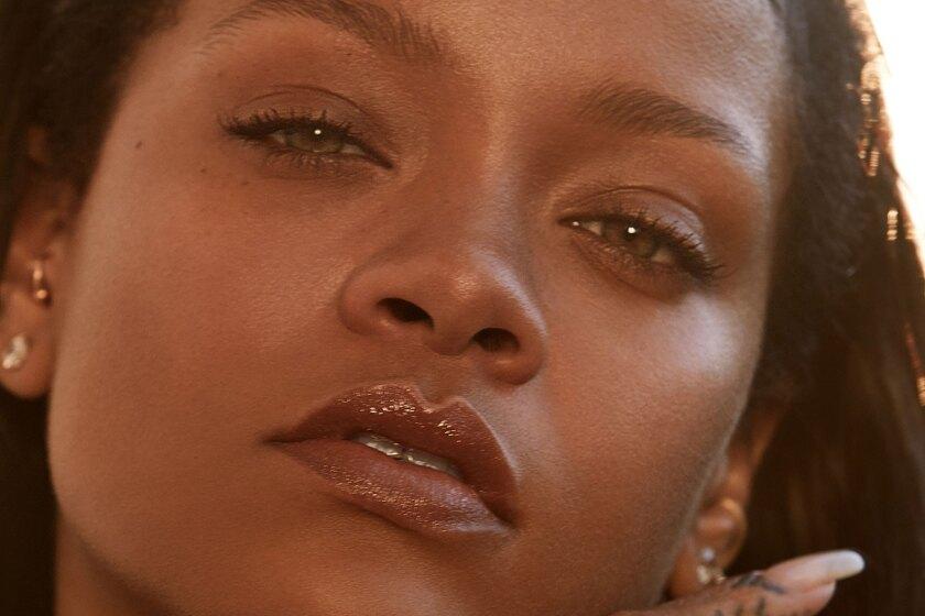A photo of Rihanna.