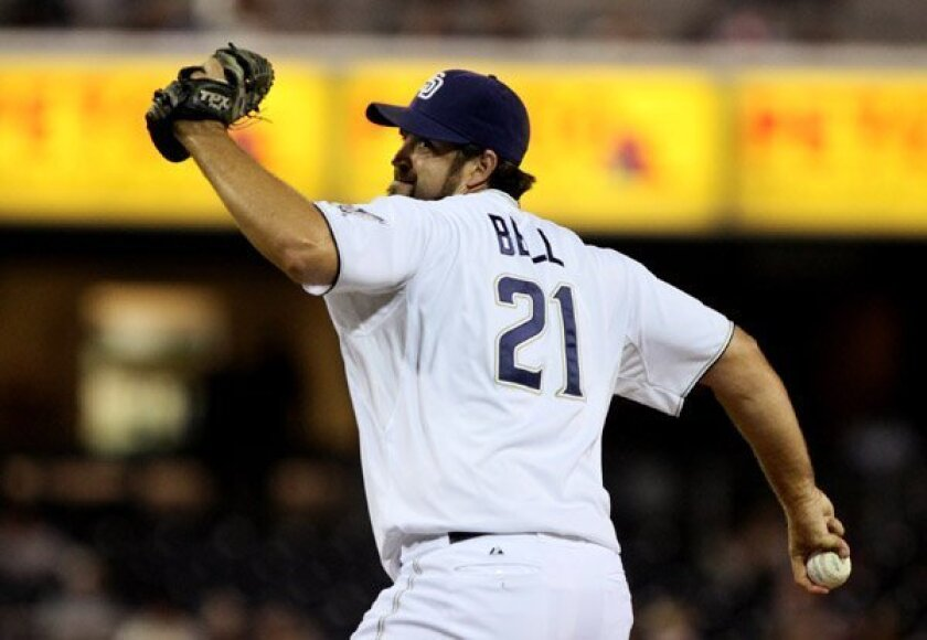 Heath Bell, when he pitched for the Padres.