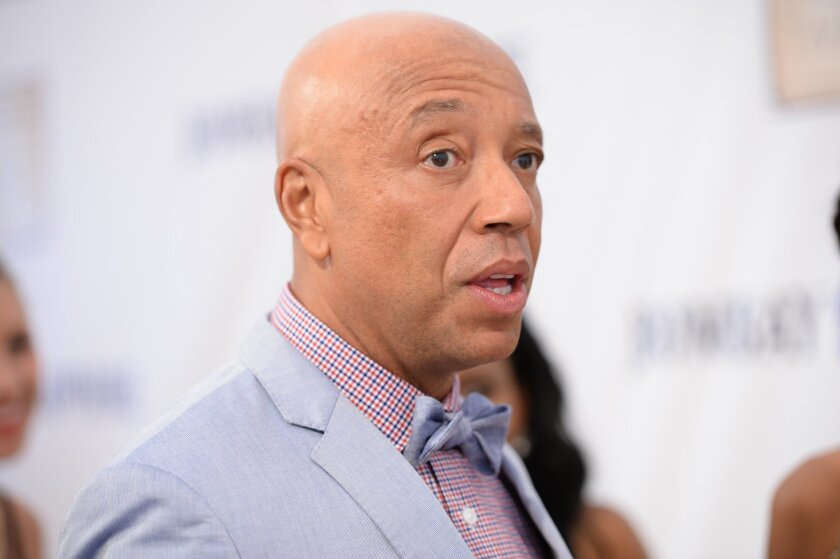 Russell Simmons attends the RUSH Philanthropic Arts Foundation's Art for Life Benefit at Fairview Farms in Water Mill on Saturday, July 18, 2015, in New York. (Photo by Scott Roth/Invision/AP)