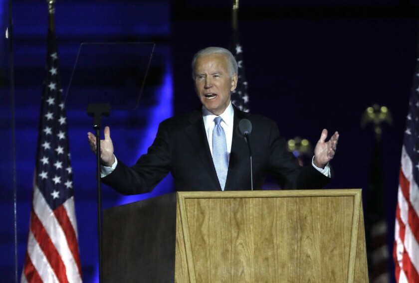 Joe Biden's election as president continues a period of remarkable upheaval in the nation's politics.