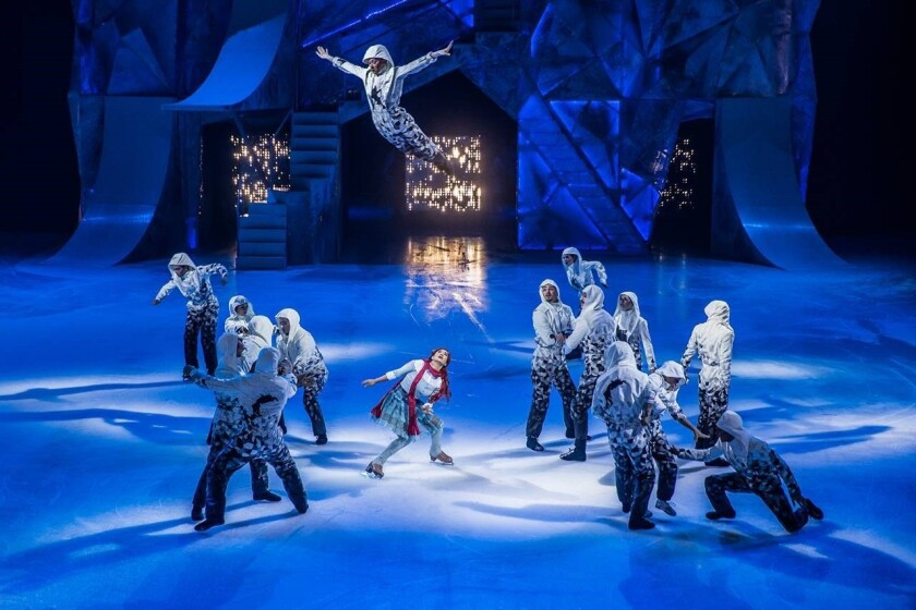 Crystal will be Cirque du Soleil's first show on ice.