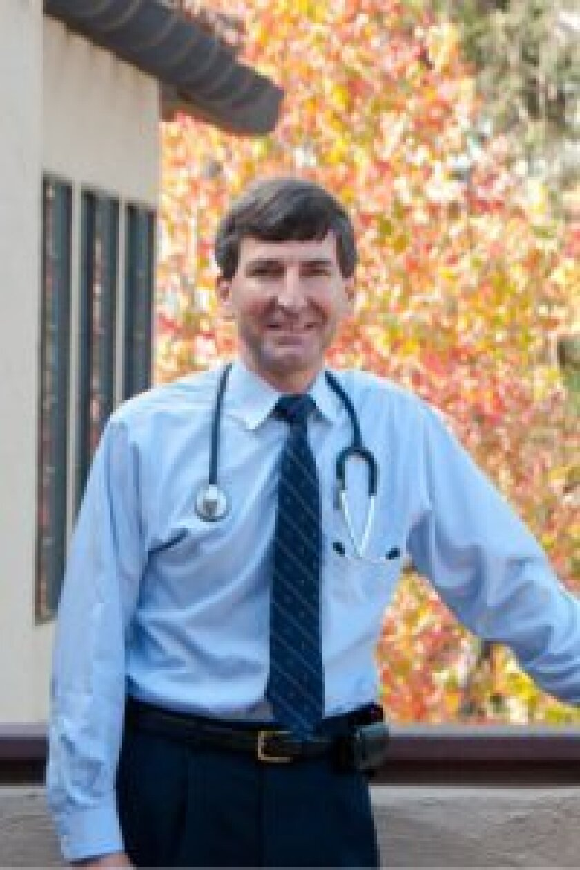 "Dr. Donald Brandon in March started his personal physician practice, a ""family doctor meets concierge physician"" model. Photo: Claire Harlin"