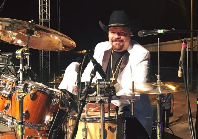 """José Luis """"El Güero"""" Ayala era considerado el mejor baterista de banda."""