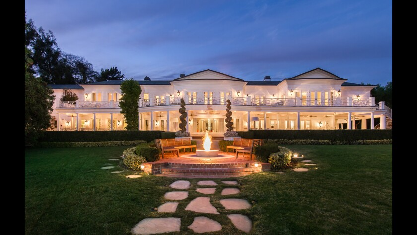 Max Azria's three-acre Holmby Hills estate is set in L.A's Platinum Triangle area.