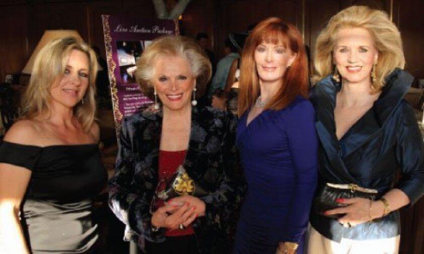Andrea Carrier, Connie McNally, Dana Falk and Jensine Bard.